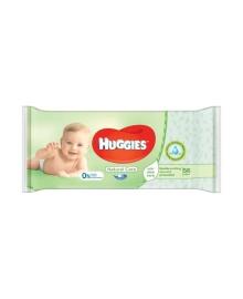 Детские влажные салфетки Huggies Natural Care Single, 56 шт