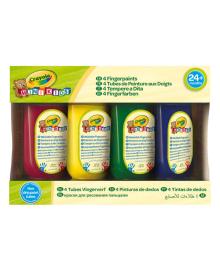 Набор пальчиковых красок Crayola Mini Kids Washable