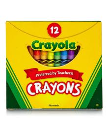 Набор восковых мелков Crayola 12 шт