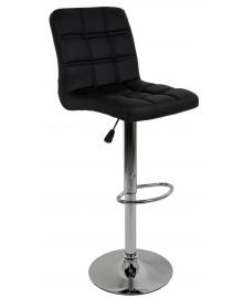Барний стілець зі спинкою Bonro B-1021 чорний (40080055)