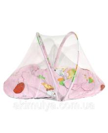 Килимок для немовляти з москітною сіткою
