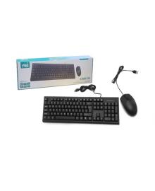 Клавиатура + мышь CMK-858 (проводные)   (KM4000)