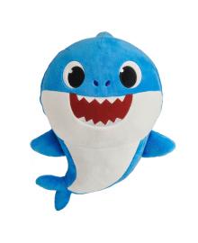 Интерактивная мягкая игрушка Baby Shark Папа Акуленка 24 см