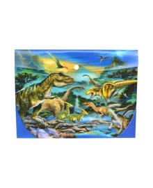 Папка Prime 3D Динозавры