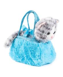 Мягкая игрушка Fancy Котик Жужа 18 см