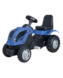 Трактор на педалях MMX MICROMAX (01-003) синий