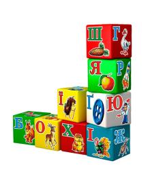 Развивающая игрушка Технок Набор кубиков Веселая Азбука