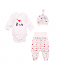 Комплект Фламинго I Love Mom Milk 433-012, 4829960142119
