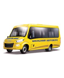 Автомодель Технопарк Iveco Daily Школьный автобус