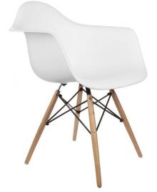Крісло Bonro В-438 FULL KD біле (40080063)