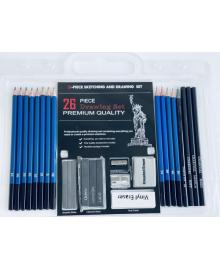 Набор графитных карандашей 26 шт.