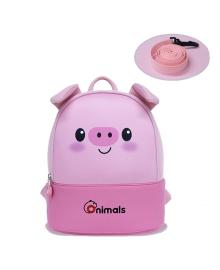Детский рюкзак ортопедический Nohoo Поросенок Rocket для девочек (OMS001-2)