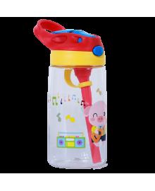 Бутылка для Воды Nohoo Свинка Прозрачная для девочек (NHC003-1)