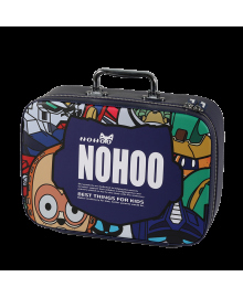 Мини-чемодан Nohoo Робот Синий для мальчика (NHP001-8)