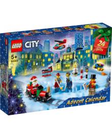 Конструктор LEGO Різдвяний календар City (60303), 5702016911619
