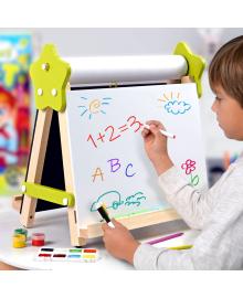 Мольберт дитячий настільний «5в1» Двосторонній для творчості та навчання Люмік LMA5N