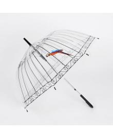 Зонт Supretto купольный прозрачный (5052)