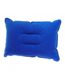 Надувная подушка Supretto для кемпинга, синяя (5991)