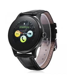 Смарт часы Supretto K88H, черный стальной ремешок (5019)