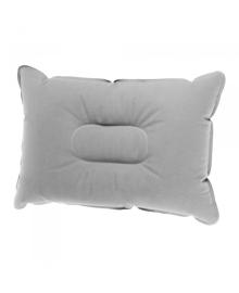 Надувная подушка Supretto для кемпинга, серая (5991)