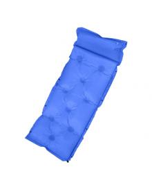 Самонадувающийся коврик Supretto для кемпинга, синий (6024)