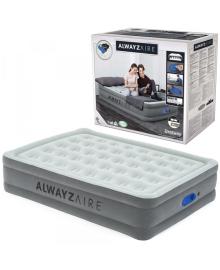 Надувная кровать Bestway со встроенным насосом 203х152х46 см (67624)