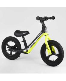 """Велобег Corso 63181 (1) колесо 12"""" надувные, магниевая рама, магниевые диски, подножка, в коробке"""