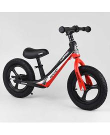 """Велобег Corso 67689 (1) колесо 12"""" надувные, магниевая рама, магниевые диски, подножка, в коробке"""
