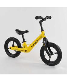 """Велобег Corso 25306 (1) колеса 12"""" надувные, магниевая рама, магниевый руль, в коробке"""