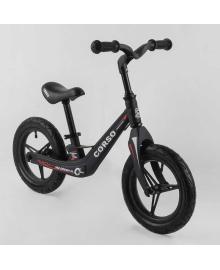 """Велобег Corso 46563 (1) колеса 12"""" надувные, магниевая рама, магниевый руль, в коробке"""