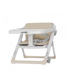 Стульчик - бустер для кормления Carrello Ergo (Каррелло Эрго) CRL-8403 Sand Beige/4/ (6900084000139) Цвет Бежевый
