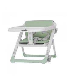 Стульчик - бустер для кормления Carrello Ergo (Каррелло Эрго) CRL-8403 Ash Green/4/ (6900084000122) Цвет Зеленый