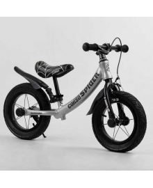 """Велобег 12'' CORSO """"SPIDER"""" 67431 (1) алюминиевая рама, передний ручной тормоз, подножка, защитные крылья, в коробке"""