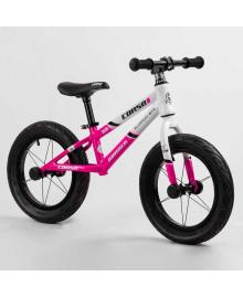 """Велобег 14"""" CORSO «Runner» 21541 (1) алюминиевая рама, колеса надувные резиновые, алюминиевые диски, алюминиевый вынос руля"""