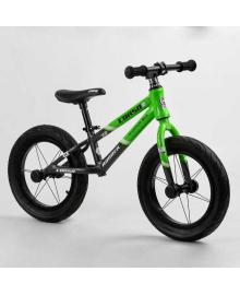 """Велобег 14"""" CORSO «Runner» 46422 (1) алюминиевая рама, колеса надувные резиновые, алюминиевые диски, алюминиевый вынос руля"""