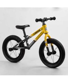 """Велобег 14"""" CORSO «Runner» 61236 (1) алюминиевая рама, колеса надувные резиновые, алюминиевые диски, алюминиевый вынос руля"""