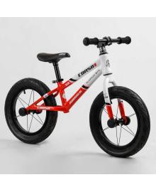 """Велобег 14"""" CORSO «Runner» 71915 (1) алюминиевая рама, колеса надувные резиновые, алюминиевые диски, алюминиевый вынос руля"""