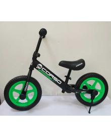 """Велобег """"CORSO"""" 08715 (1) стальная рама, колесо 12"""" EVA (ПЕНА), подставка для ножек, подножка"""