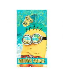 Полотенце пляжное E Plus M Minions Paradise 70х140