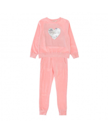 Комплект Silversun Pink Heart Джемпер Брюки KT218600C2, 8682113775260