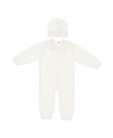 Комплект Elf-kids Baby Milk Ромпер Шапочка Комбинезон+шапочка, 2100047630685, 2100047630647