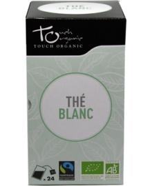 Чай белый Touch organic, неферментированый в пакетиках, органический, 24 шт.