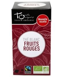 Чай белый с ароматом смеси ягод Touch organic, неферментированый в пакетиках, органический, 24 шт.