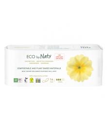Органические прокладки Eco by Naty Normal 14 шт без крылышек