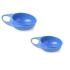 Детская тарелка для кормления Nuvita Easy Eating глубокая 2шт. (NV8431Blue)
