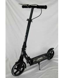 """Самокат двухколесный """"Best Scooter"""" 16874 (4) """"SHARK"""", с ручным тормозом, зажим руля, колеса PU - 20 см, 1 амортизатор, в коробке"""
