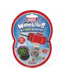 Игровой набор Marvel Wooblies Superheroes Surprise с пусковым механизмом 2 шт