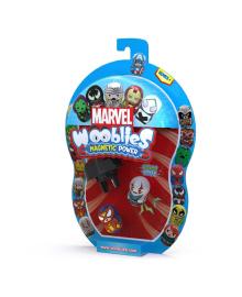 Игровой набор Marvel Wooblies Superheroes с пусковым механизмом 2 шт