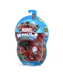 Игровой набор Marvel Wooblies Superheroes с пусковым механизмом 3 шт