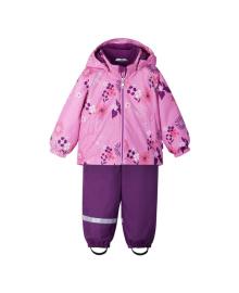 Комплект Lassie by Reima Куртка и полукомбинензон Oivi flowers pink 713745-4161, 6438429622284